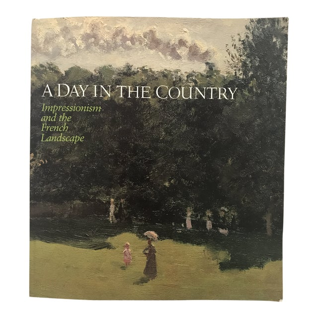 """1984 """"Day in the Country"""" French Impressionism Museum Exhibition Book For Sale"""