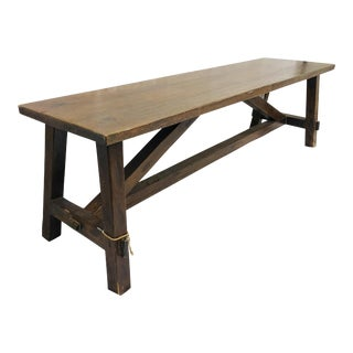 Antique Wooden Bench / Table For Sale