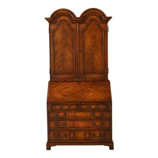 Theodore Alexander English Mahogany George III Secretary Desk For Sale