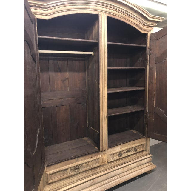 French Louis XIV Dome Top Armoire For Sale In Atlanta - Image 6 of 13