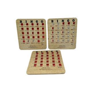 Vintage Bingo Cards - Set of 3