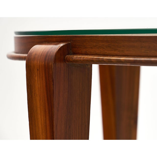 Art Deco Period Figured Walnut Gueridon Table For Sale In Austin - Image 6 of 10