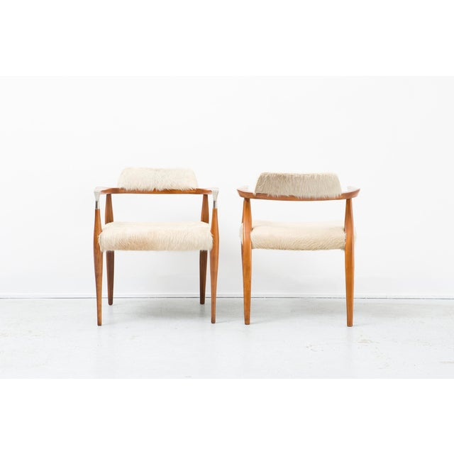 Mid-Century Modern Set of Accent Chairs For Sale - Image 3 of 11