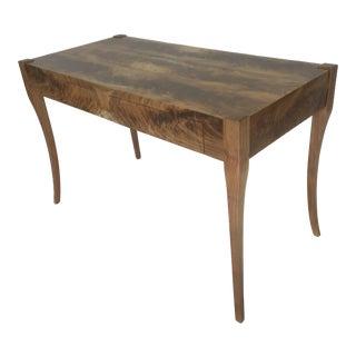 French Walnut Writing Desk For Sale