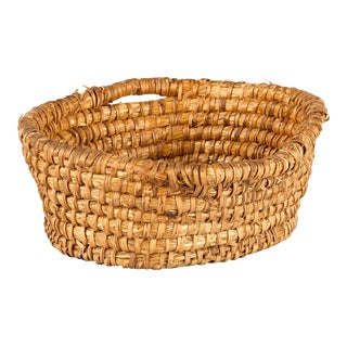 Vintage French Corbeille Basket From Provence For Sale