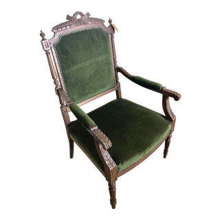 Early 20th Century Antique French Armchair