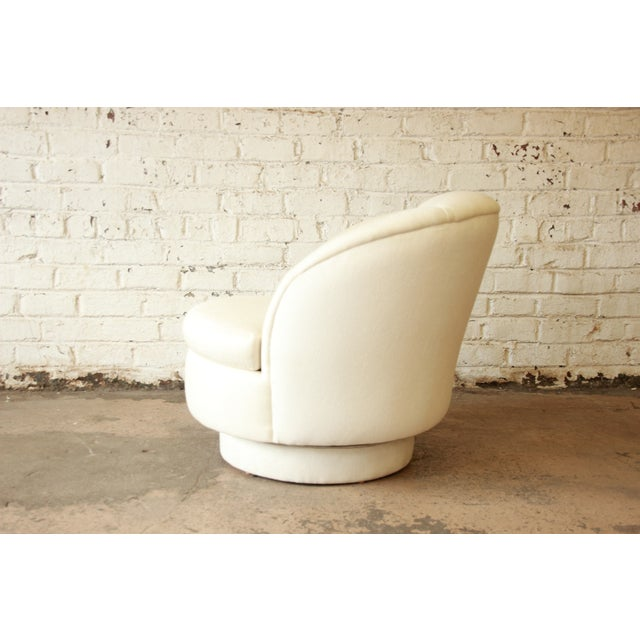 On Hold - Milo Baughman for Thayer Coggin Swivel Club Chair - Image 4 of 8