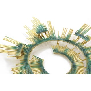 Curtis Jere Wall Sculpture, Brass and Applied Patina Preview