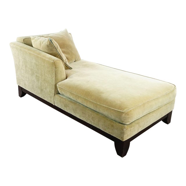 Pottery Barn Upholstered Chaise Lounge