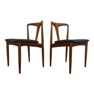 Johannes Andersen Juliane Dining Chairs - A Pair