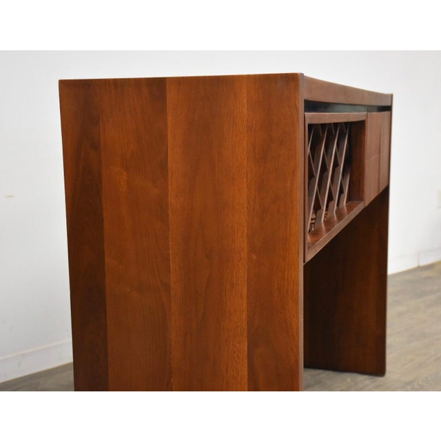 Mid-Century Modern Dillingham Walnut Mid Century Bar For Sale - Image 3 of 11