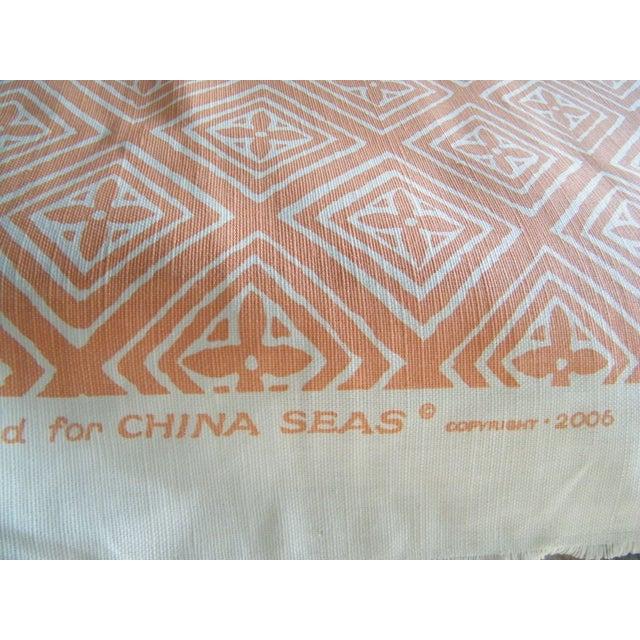 Contemporary Quadrille China Seas Fabric Fiorentina - 1 Yard For Sale - Image 3 of 4