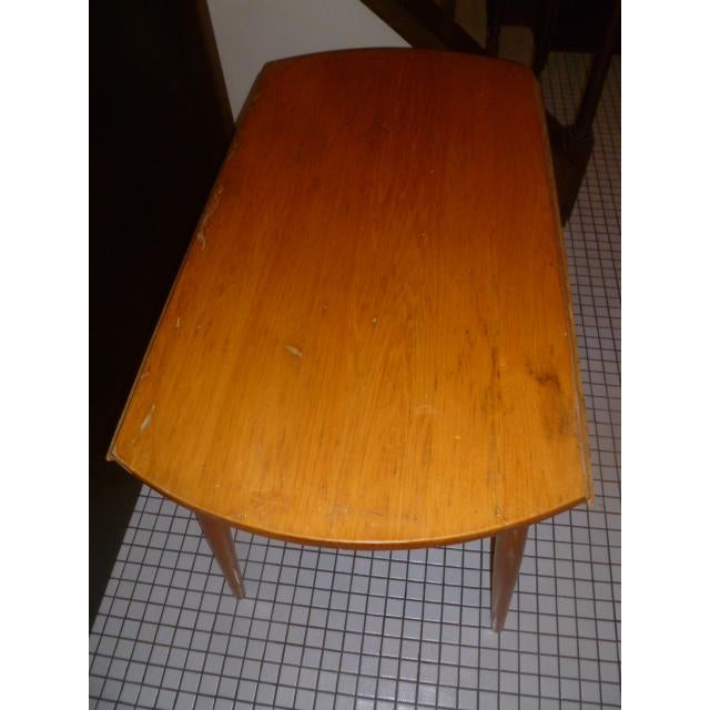 Mid-Century Modern Paul McCobb Maple Dining Table For Sale - Image 3 of 6