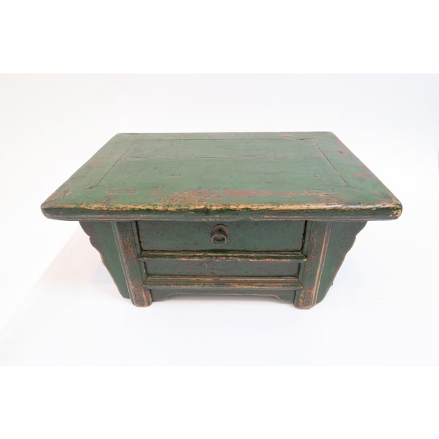 Japanese Low Writing Desk - Image 3 of 7