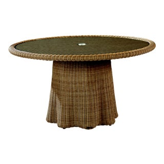 Celerie Kemble - Crespi Wave Outdoor Round Dining Table For Sale