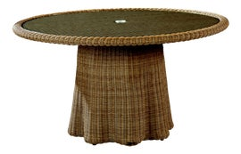 Image of Boho Chic Outdoor Dining Tables