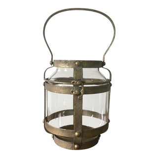 Vintage Candle Lantern For Sale
