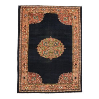 Antique Persian Sultanabad Rug, 9'9 x 13'3 For Sale
