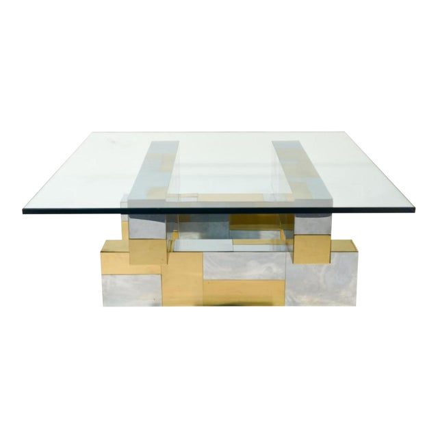 Paul Evans Cityscape Coffee Table - Image 1 of 4