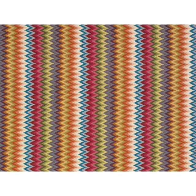 "Contemporary Stark Studio Rugs Rug Baci - Multi 9"" X 9"" Sample For Sale - Image 3 of 3"