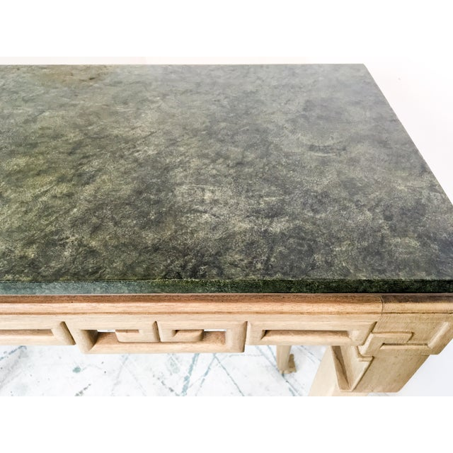 Italian Greek Key Tall Console Table - Image 5 of 6