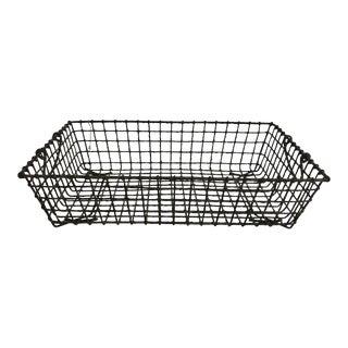Large Vintage French Oyster Basket
