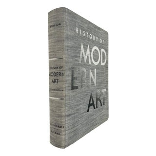 Vintage History of Modern Art Oversized Coffee Table Book