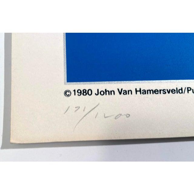 Art Deco Oceanliners, the Cooper-Hewitt Museum by John Van Hamersveld, Hand Printed Silkscreen Limited Edition Print For Sale - Image 3 of 5