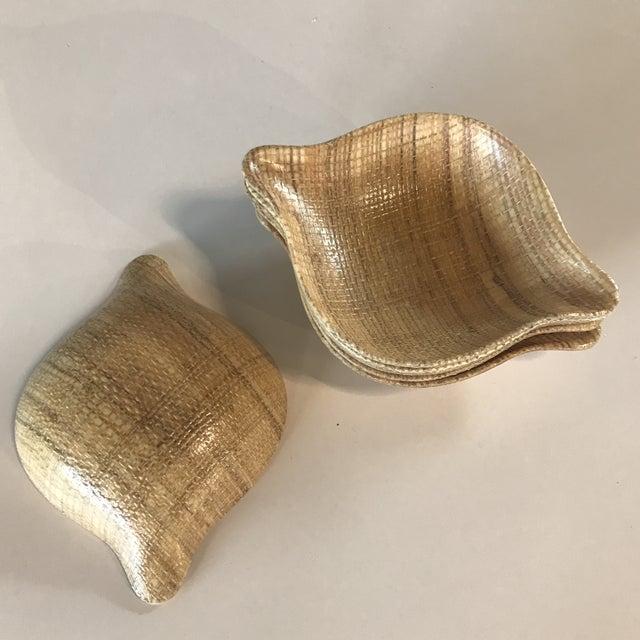 Mid-Century Modern 1960s Mid-Century Modern Abaca Grainwear Bowls - Set of Six For Sale - Image 3 of 5