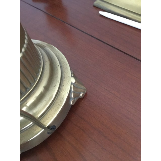 Ethan Allen Brass Table Lamp - Image 6 of 7