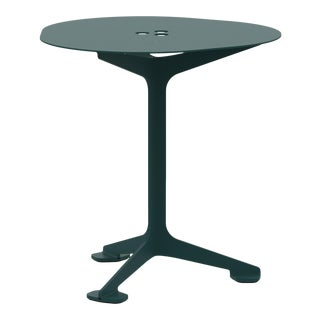 Jackson Cafe Table Triangle in Moss For Sale