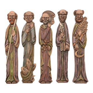 Brewing Monks Burwood Wall Hangings - Set of 5