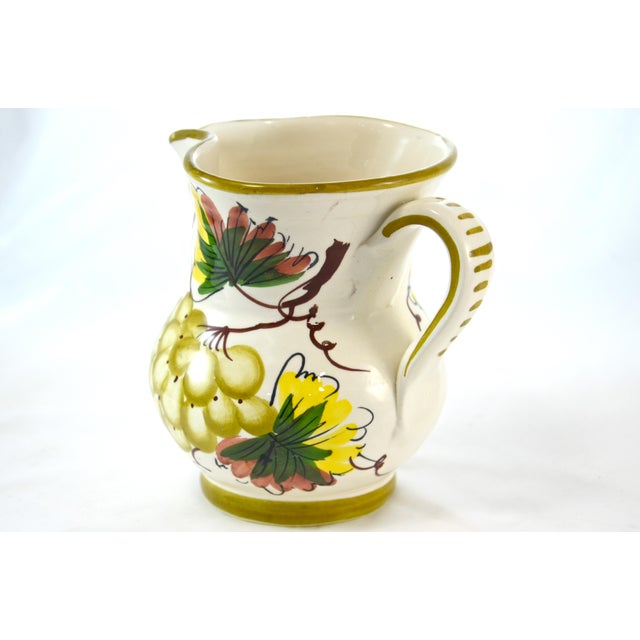Tuscan-Style Grape Pitcher - Image 4 of 7