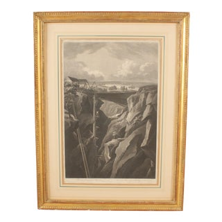 """Swedish Views"" No. 22 Engraving"
