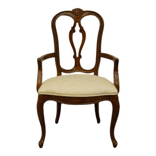 Late 20th Century Century Furniture Chardeau Collection Country French ProvincialChair For Sale