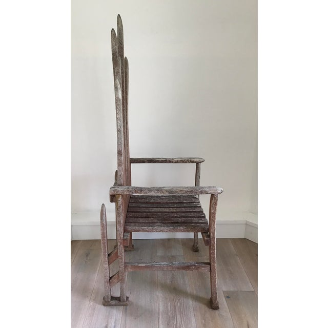 Early 20th Century American Folk Art Chair For Sale - Image 4 of 4