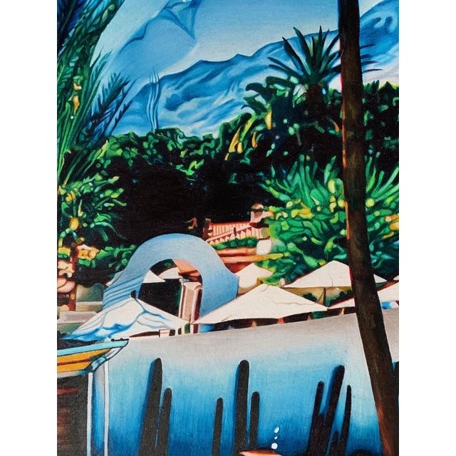 """Contemporary """"Lost Summer"""" Contemporary Trompe L'oeil Photorealist Limited Edition Giclee Print by Jack Verhaeg For Sale - Image 3 of 5"""