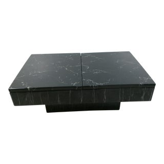 1970s Vintage Willy Rizzo Coffee Table For Sale