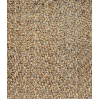 Herringbone 2 Tone Natural Jute Rug - 2' X 3' Preview