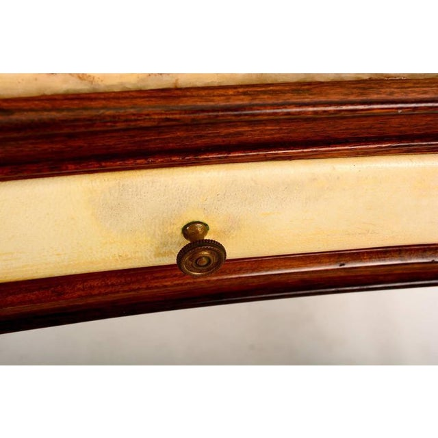 Italian Parchment & Walnut Queen Bedroom Set For Sale - Image 9 of 9