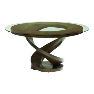 Fleur Dining Base, Wenge For Sale