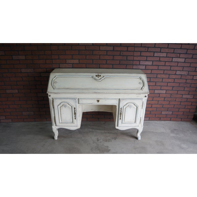 20th Century Shabby Chic Secretary Desk For Sale - Image 10 of 10