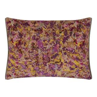 Odisha Rosewood Velvet Cushion For Sale
