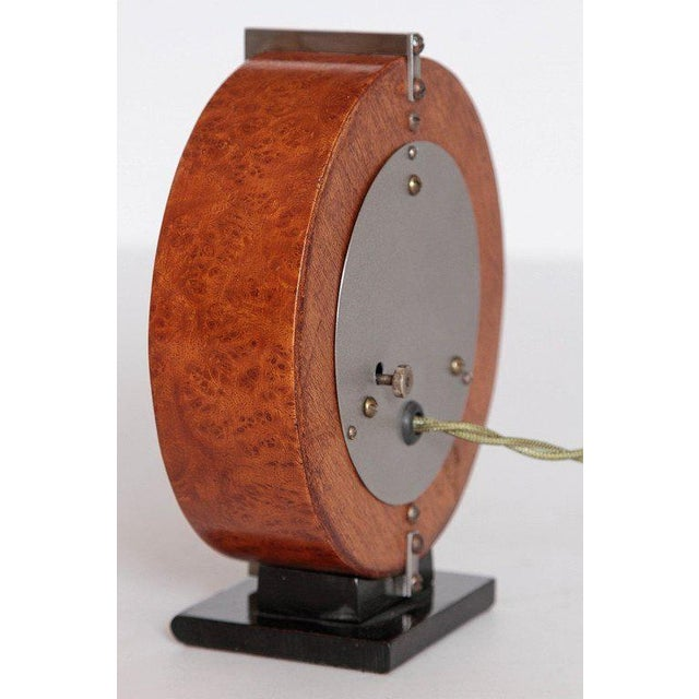 Herman Miller Machine Age Gilbert Rohde Herman Miller Century of Progress Clock, No. 4725B For Sale - Image 4 of 11