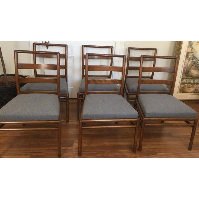 Robsjohn Gibbings for Widdicomb Dining Chairs- Set of 6 - Image 7 of 11