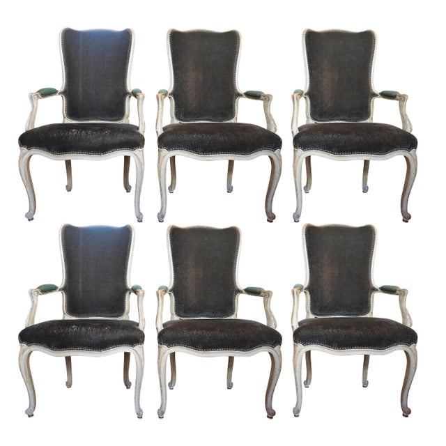 Set of Six Dining Chairs For Sale - Image 10 of 10