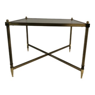 1960s Mid Century Brass Side Table For Sale