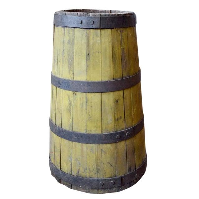 19th Century Wood and Iron Graduated Barrel - Image 1 of 5
