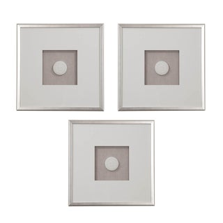 Set of Three Hatcher, New Orleans, Framed Intaglios For Sale