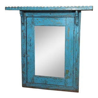 19th Century French Door Frame Mirror